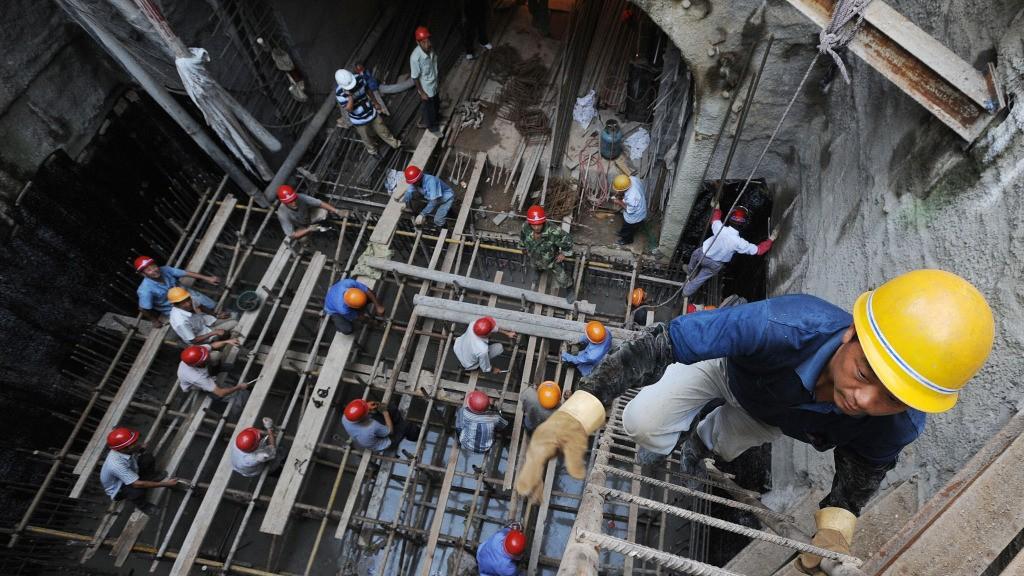 Kinas industri vokser ikke like raskt som før.