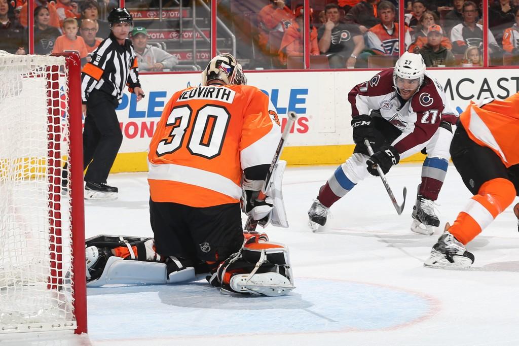VANT: Andreas Martinsen vant i sin NHL-debut.