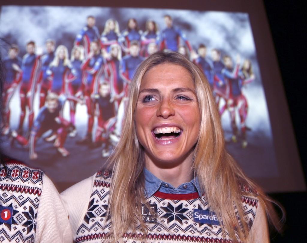 TRENER HURTIGHET: Therese Johaug smiler lurt før sesongstarten på Beitostølen. Sprintrenn blir det likevel trolig ikke på jenta fra Dalsbygda.