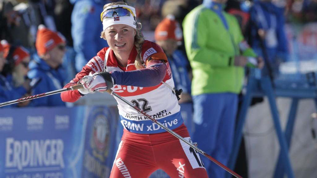 HJEMMEHÅP: Tiril Eckhoff er en av skiskytterne som håper på gull og Kollen-magi i VM på hjemmebane.