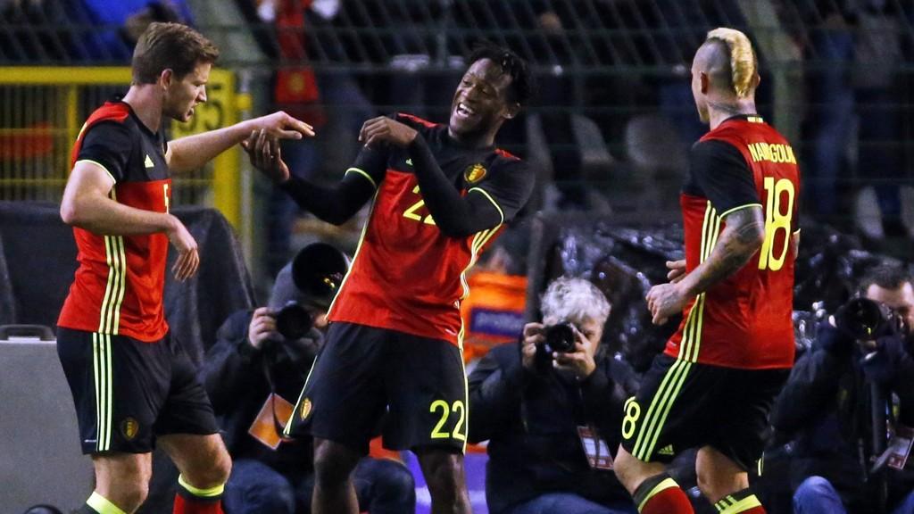 De belgiske fotballandslaget blir ikke å se i aksjon mot Spania tirsdag.