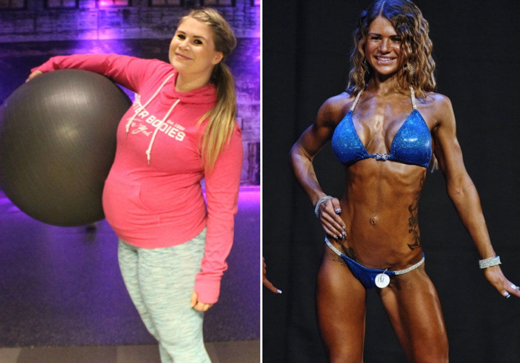 NORA MATHISEN har tidligere konkurrert i fitness og jobber som personlig trener.