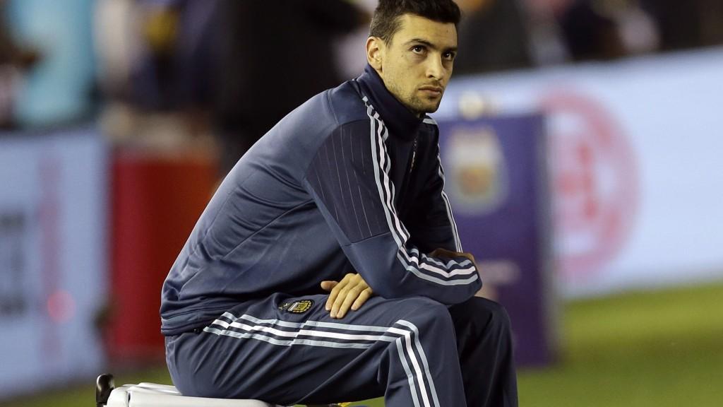 Javier Pastore er hjemme i Argentina i forbindelse med at Argentina spiller VM-kvalifsering.