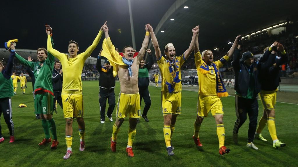 EM-KLARE: Ukraina er klare for nok et EM-sluttspill etter 1-1 borte mot Slovenia.