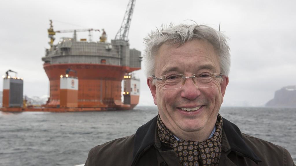 Adm. direktør Karl Eirik Schjøtt-Pedersen og Norsk olje og gass venter en ny kraftig oppgang i oljeinvesteringene i 2018. Her ved en tidligere anledning. Foto: Jan-Morten Bjørnbakk / NTB scanpix