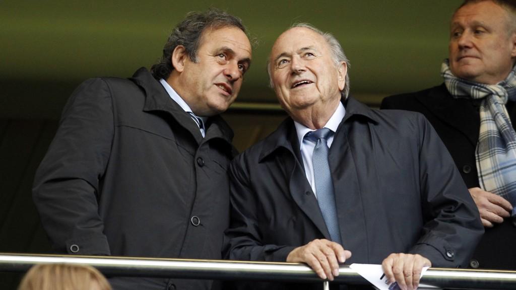 UTESTENGT: Hverken Sepp Blatter eller Michel Platini får opphevet sin 90 dager lange utestengelse.