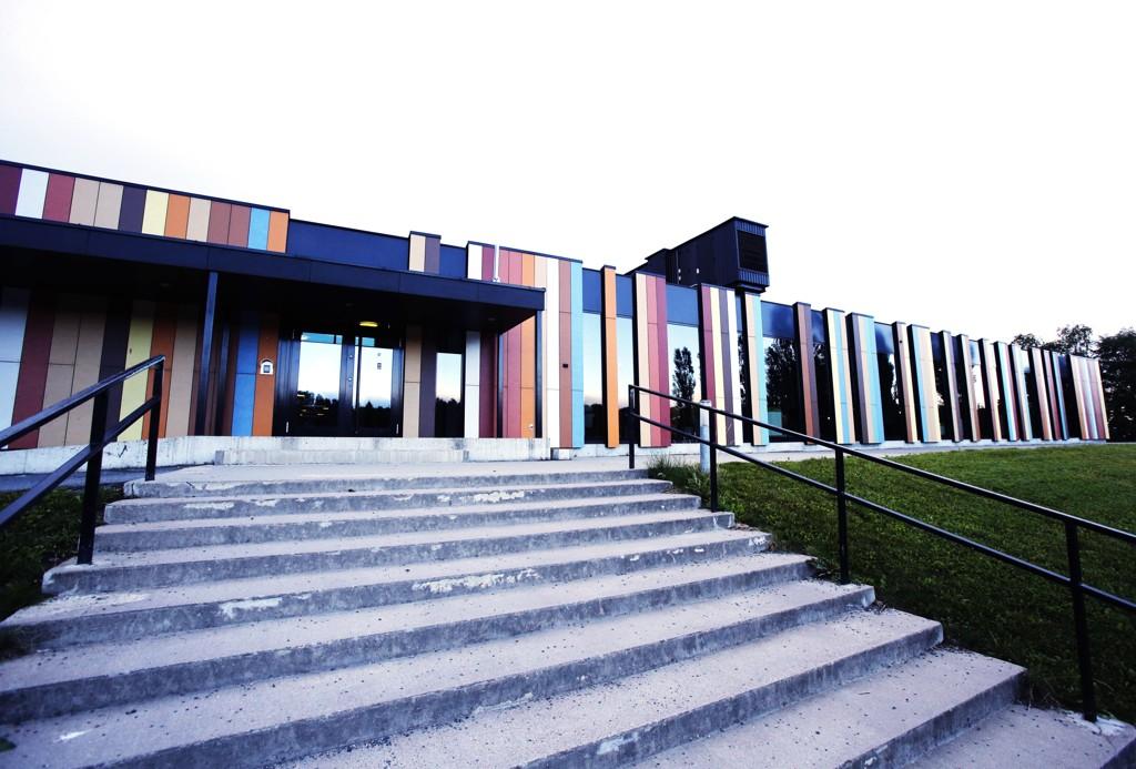 PÅ TOPP: Privatskolen Oslo International School på Bekkestua i Akershus har gjort det best i de nasjonale prøvene på 8. trinn. På denne skolen er prinsesse Ingrid Alexandra elev.
