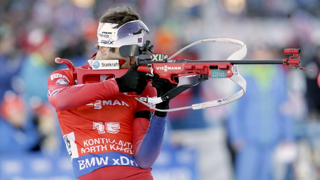STÅR OVER: Ole Einar Bjørndalen velger å stå over sesongåpningen i skiskyting grunnet sykdom