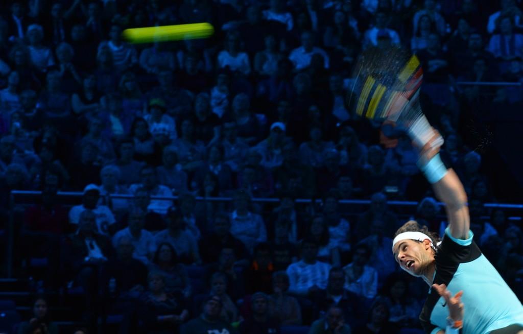 VANT: Rafael Nadal slo Andy Murray.