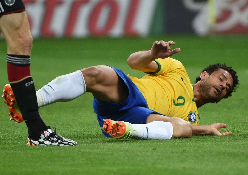 SKUFFET I VM: Fred ble symbolet på alt som gikk galt for Brasil i deres eget VM.