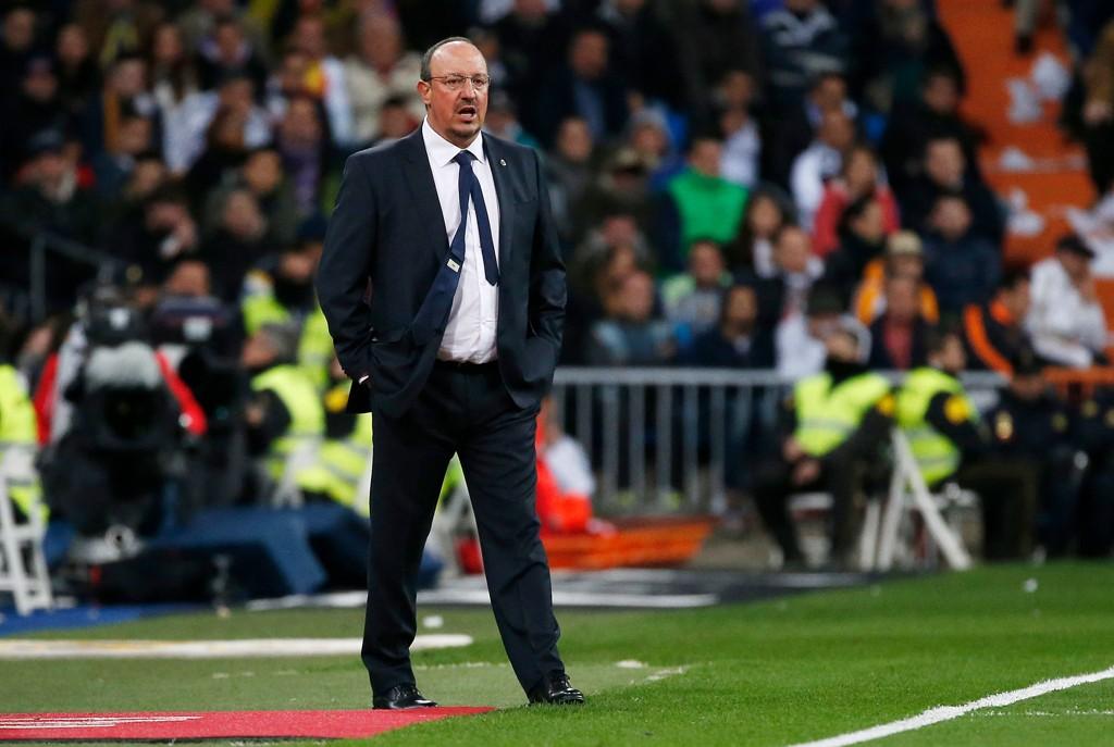 REALT MARERITT: Rafael Benitez og Real Madrid opplevde at marerittet ble virkelig i hjemmekampen mot Barcelona lørdag kveld.