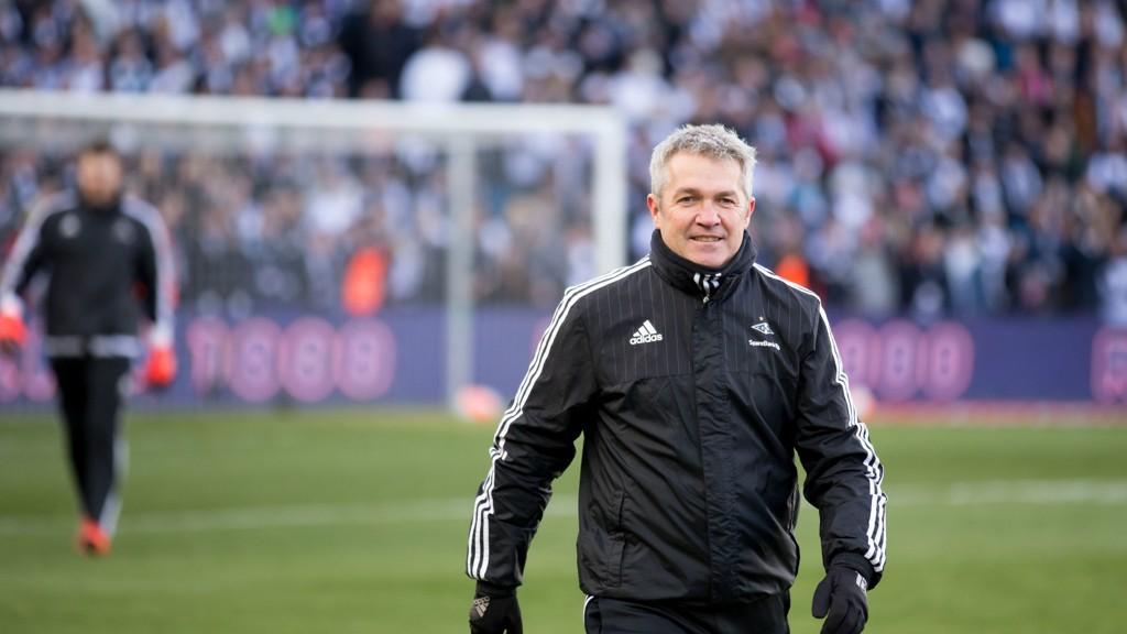SUKSESSTRENEREN: Kåre Ingebrigtsen vant dobbelen i sin første sesong som Rosenborgs hovedtrener.