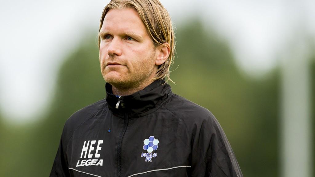 Hans-Erik Eriksen er ferdig som trener i Follo FK.