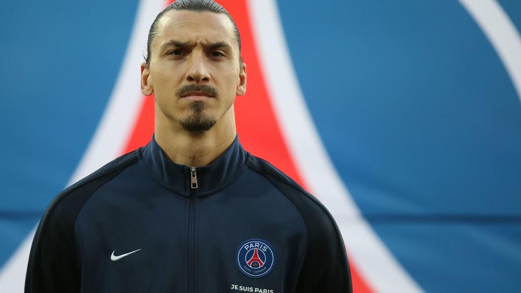 Paris Saint Germain-spiller Zlatan Ibrahimovic møter Malmö i Champions League onsdag.