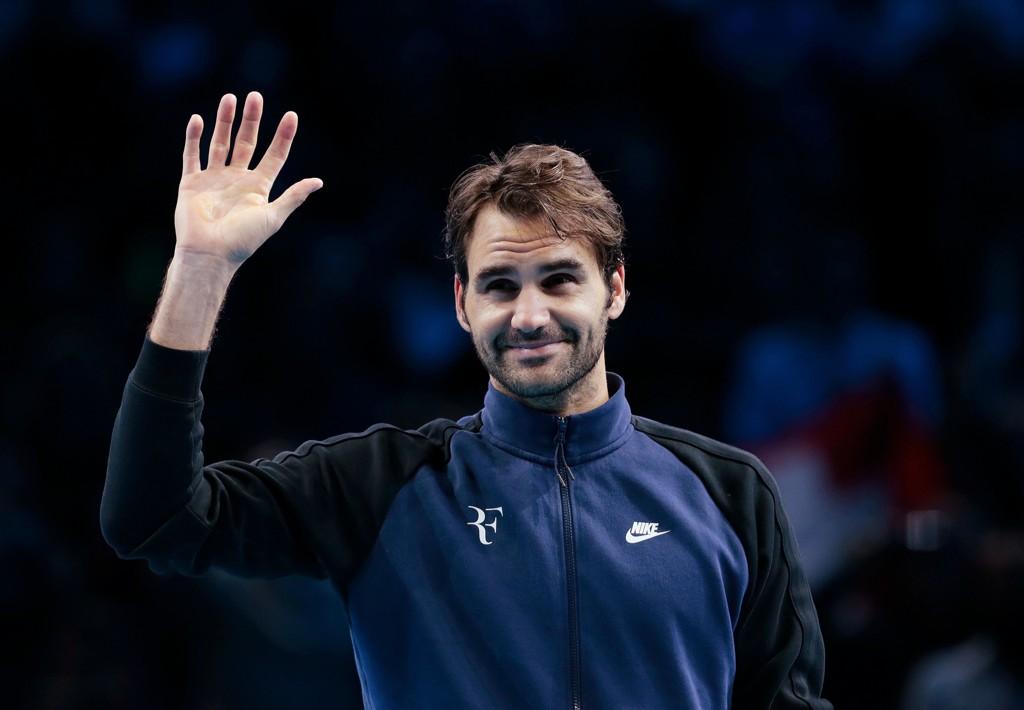 INGEN KARRIERESLUTT: Sveitsiske Roger Federer er blitt 34 år, men akter å fortsette som før i tenniseliten.