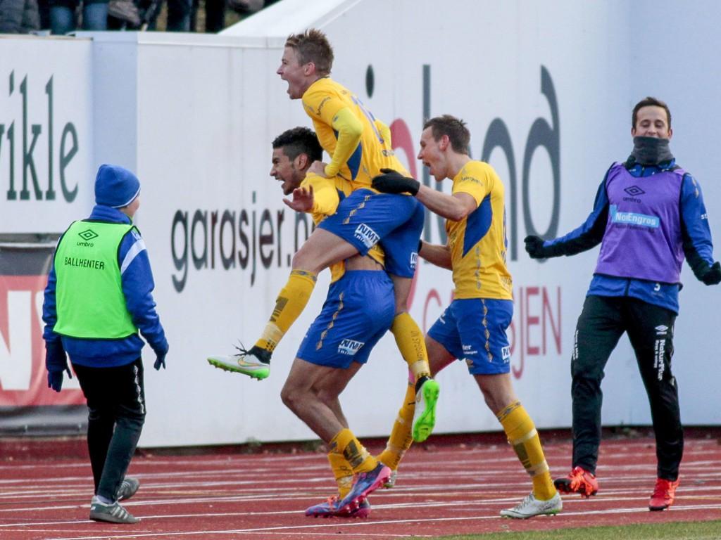 STORT STEG: En seier mot Start og et eventuelt opprykk til Tippeligaen kan vil medføre millionkostnader for den sensasjonsklubben Jerv fra Grimstad.