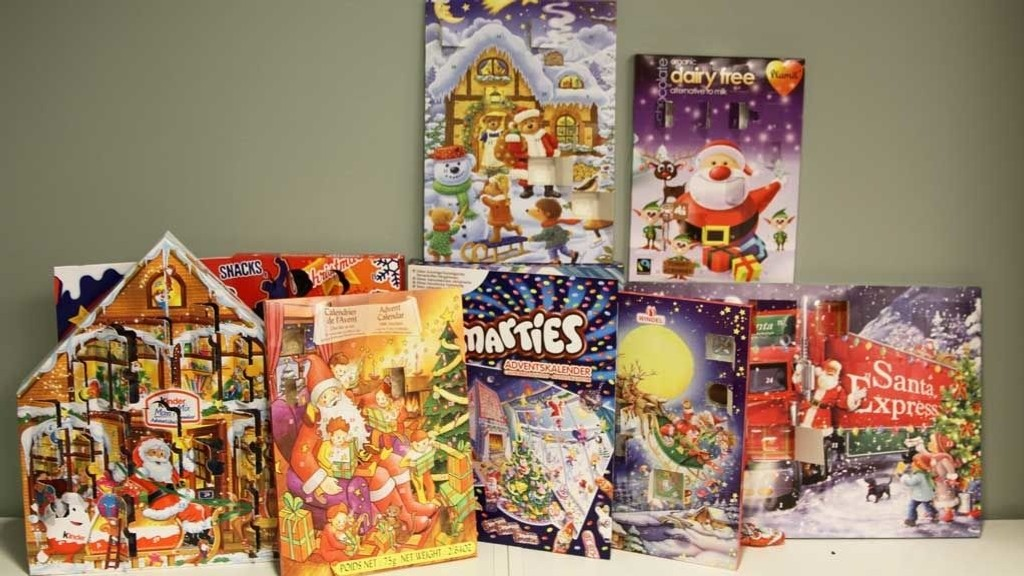 kinder julekalender pris