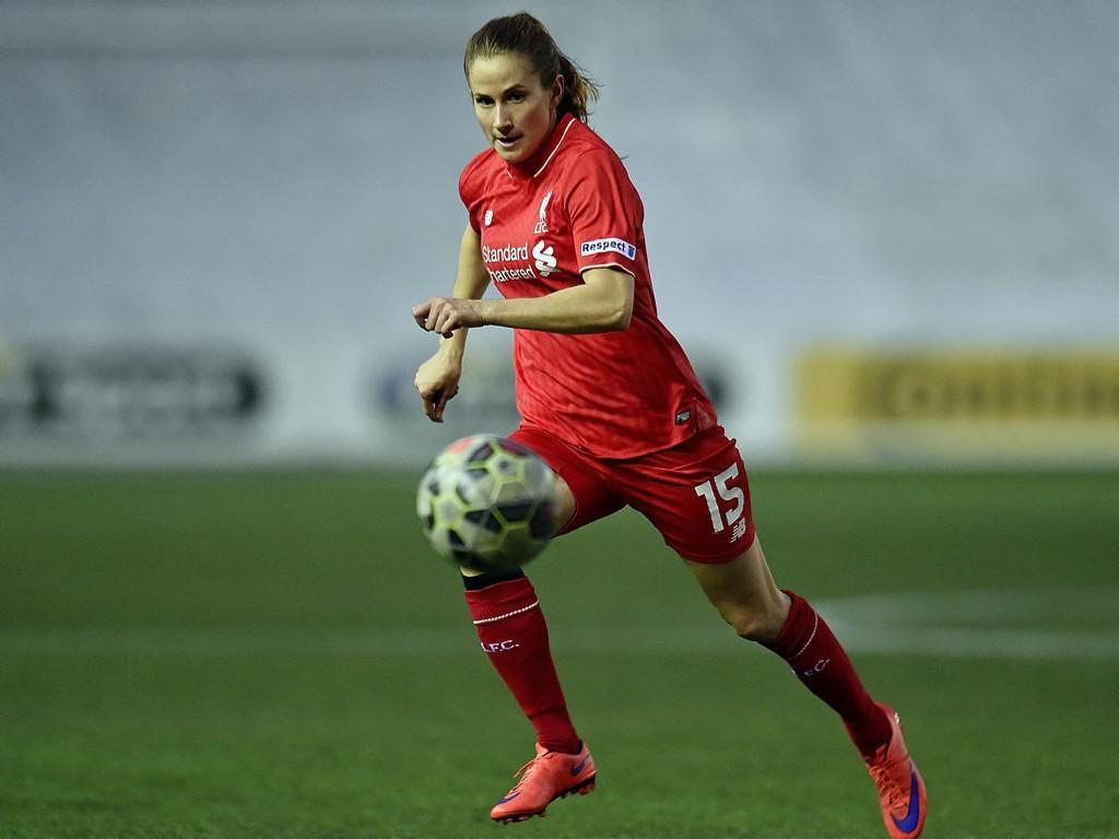 KLUBBSKIFTE: Tida i Liverpool er over for norske Ingrid Ryland (bildet) og Line Smørsgård.