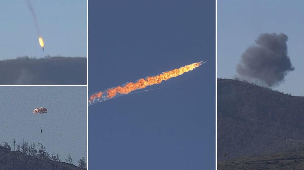 Tyrkiske myndigheter bekrefter at de har skutt ned et russisk fly som de hevder krenket tyrkisk luftrom. Russlands forsvarsdepartement benekter at flyet var inne over Tyrkia.