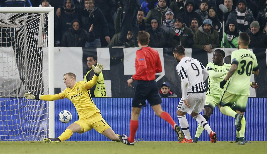 Juventus vant 1-0 hjemme over Manchester City onsdag.