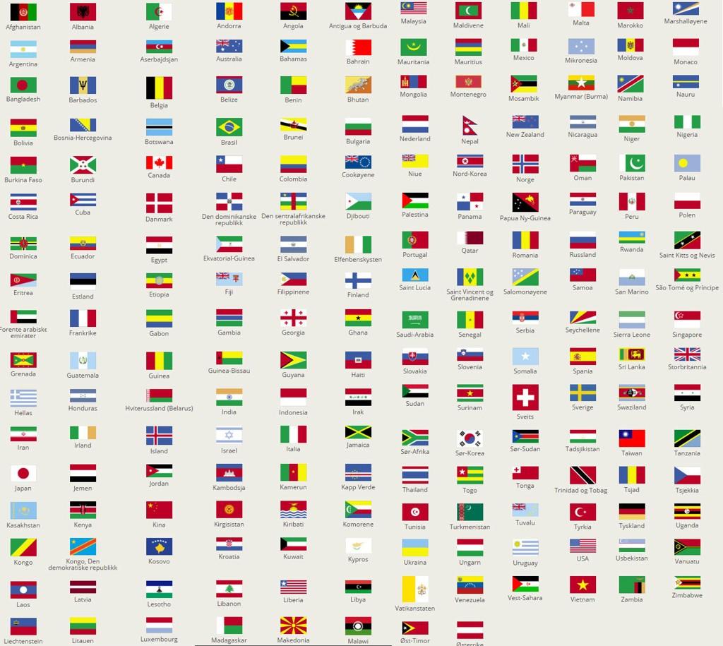 verdens største land