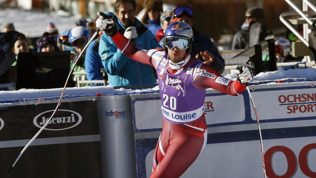 VANT: Aksel Lund Svindal kjørte fantastisk og vant verdenscupåpningen i utfor.