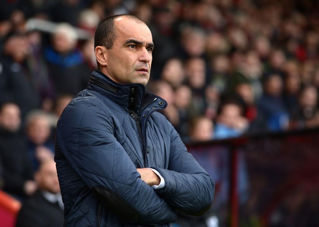 VANTRO: Roberto Martinez trodde ikke sine egne øyne da hans Everton rotet bort 3-2-ledelsen syv minutter på overtid mot Bournemouth i helgen.