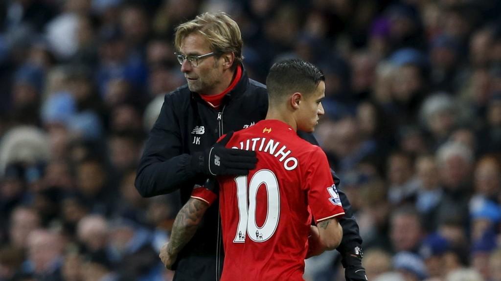 TILBAKE: Philippe Coutinho er tilbake for Jürgen Klopp og Liverpool.