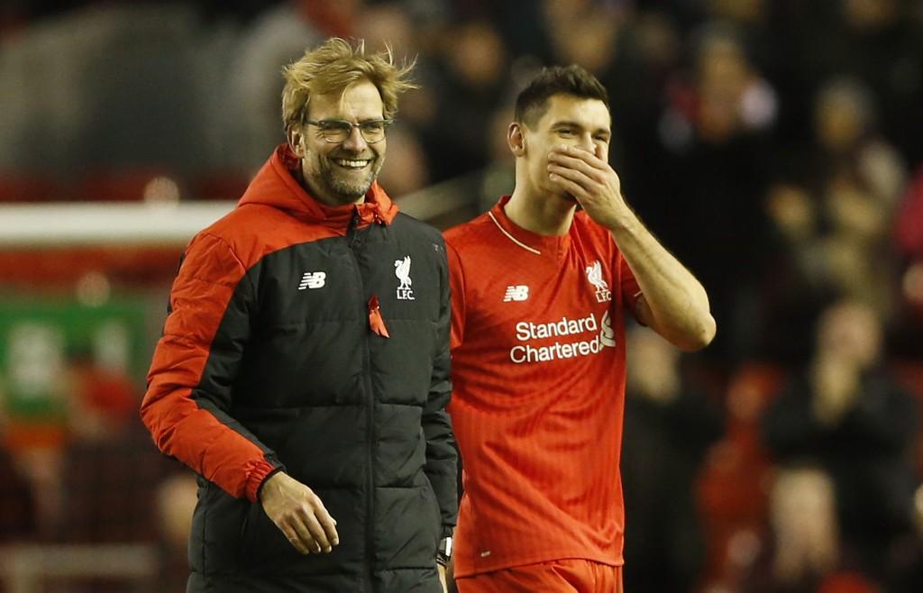 I FORM: Liverpool og Dejan Lovren leverer varene for tiden.