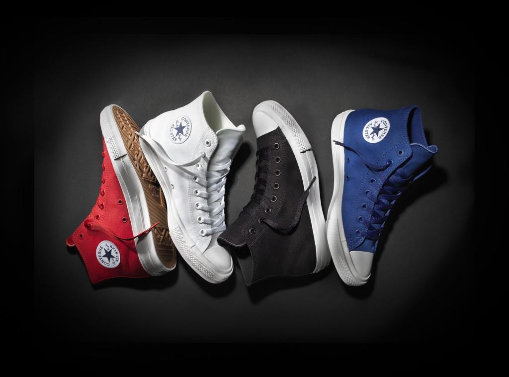 LITT ANNERLEDES: De nye Converse-skoene er mer ergonomiske og har et litt annet utseende.