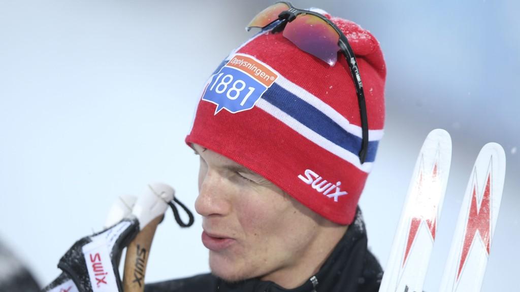 VINNER: Magnus Krog kjørte seg opp fra 15. plass og tok seieren på Lillehammer.