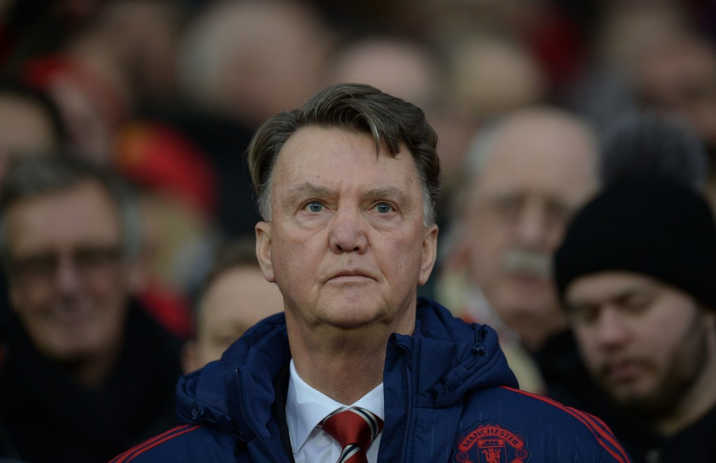 MÅLFATTIG: Louis van Gaal innrømmer at United sliter foran mål.