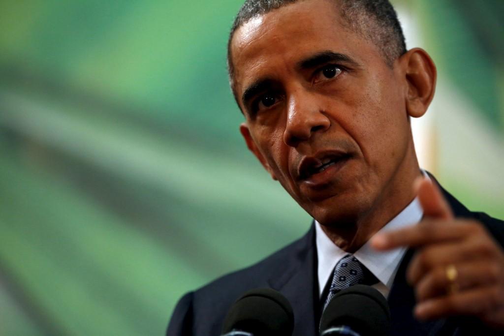 USAs president Barack Obama vil i en tale søndag love å bruke ethvert amerikansk maktmiddel for å ødelegge Den islamske stat (IS).