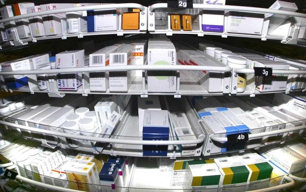 reseptfrie legemidler i butikk