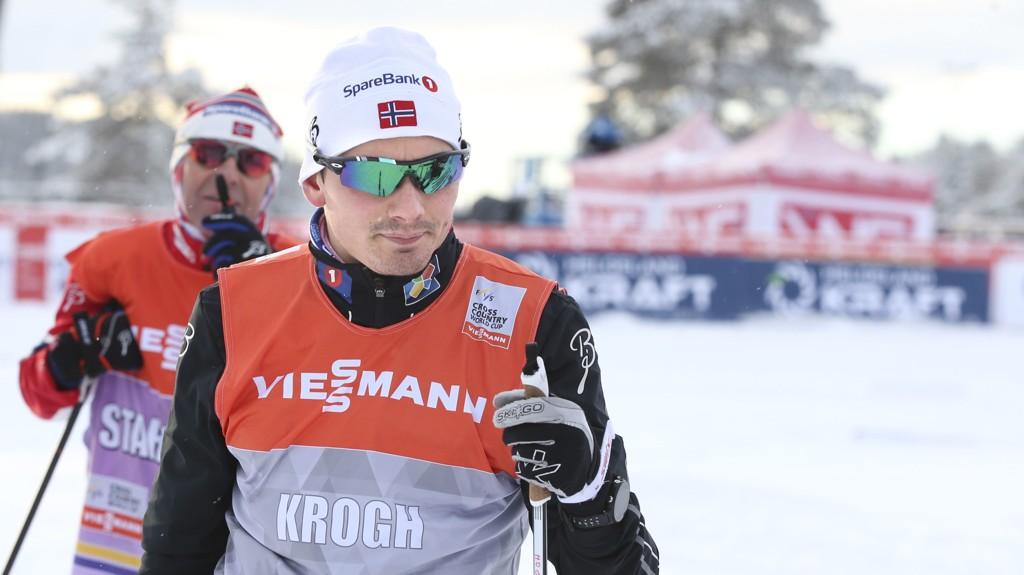 SKEPTISK: Finn Hågen Krogh er skeptisk til mix-stafett i langrenn.