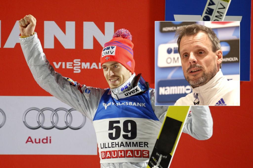 IMPONERT: Alexander Stöckl er imponert over jobben Andreas Stjernen har gjort for å slå tilbake i verdenscupen.