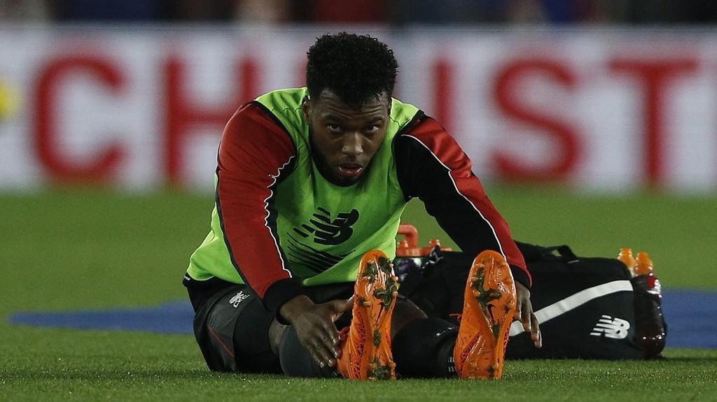 SKADET: Ifølge Liverpool Echo skal Dnaiel Sturridge på ny være skadet. Nå må han belage seg på en tilværelse på tribunen frem til over nyttår.