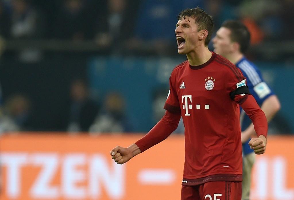 """TOR-MONSTER: Thomas Müller spiller sjelden en dårlig kamp og scorer """"alltid""""."""