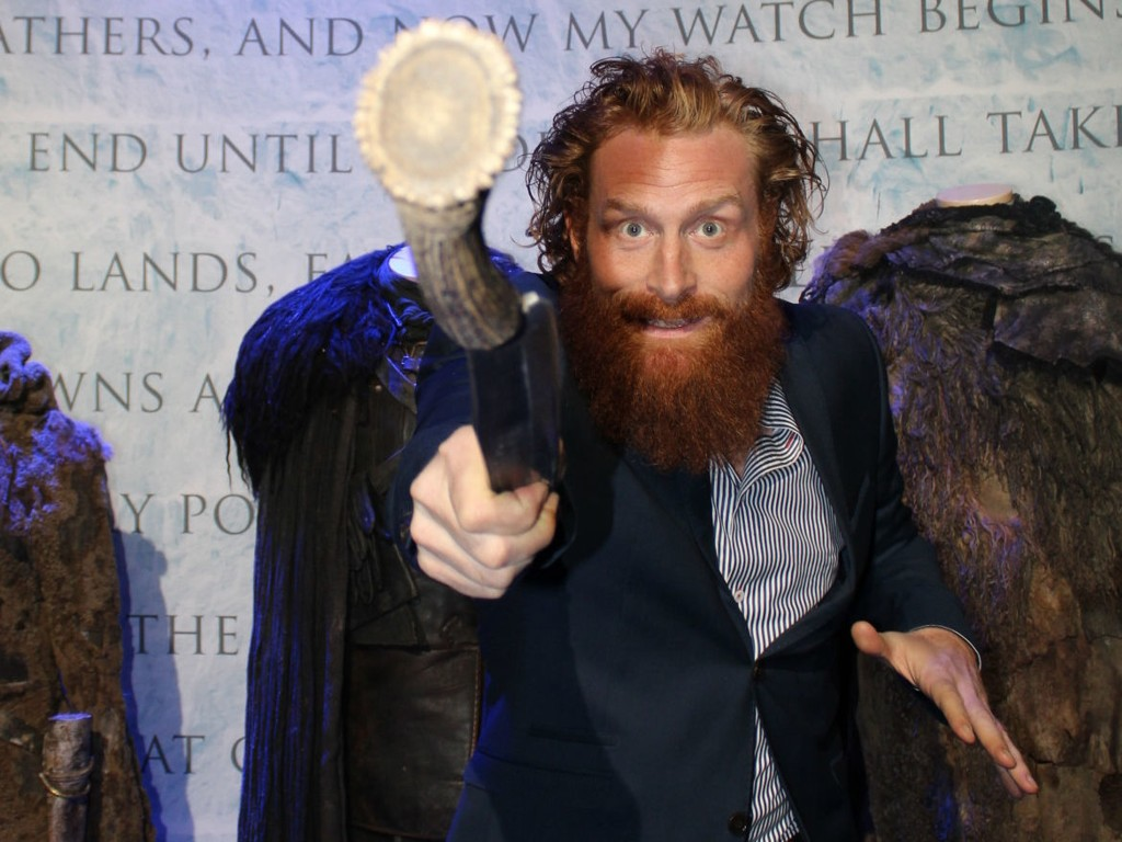 ENTRER BECK-UNIVERSIET: Kristofer Hivju.