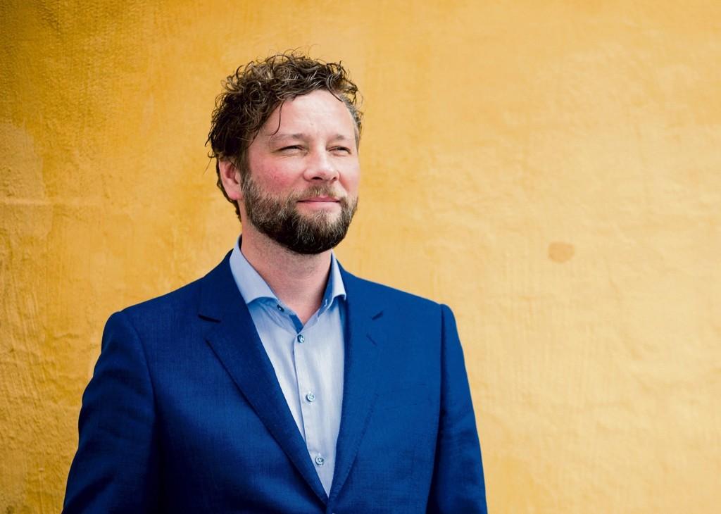 UENIG: Klubbleder Alf Gjøsund i Vårt Land mener hans medlemmer ikke er inhabile til å intervjue deres avtroppende sjefredaktør Helge Simonnes. Bildet er tatt i en annen anledning.