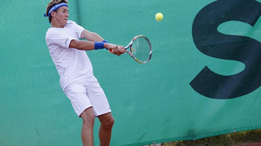 SNART PÅ TOPP: Casper Ruud er rangert som verdens nest beste tennisspiller i juniorklassen.
