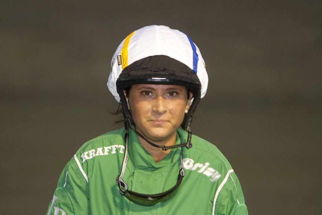 Jenny Brunzell er rytter på vår montebanker tirsdag. Foto: Anders Kongsrud/www.hesteguiden.com.