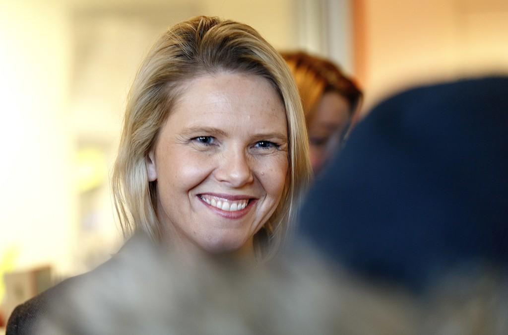 STORE KOSTNADER: Innvandrings- og integreringsminister Sylvi Listhaug (Frp) sier hun frykter for velferdsordningene og de store kostnadene ved å hjelpe folk i Norge. Foto: Gorm Kallestad / NTB scanpix