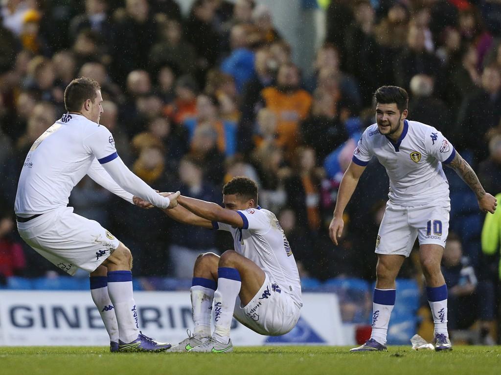 I FORM: Ti poeng de siste fem kampene smaker nok godt for et Leeds som har slitt.