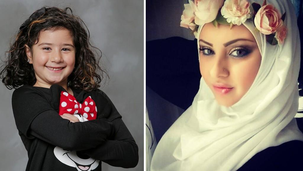 Layal Ayoub (30) mener det er helt naturlig at datteren Janet (6) besøker kirken sammen med skolen før jul, selv om de er muslimer.