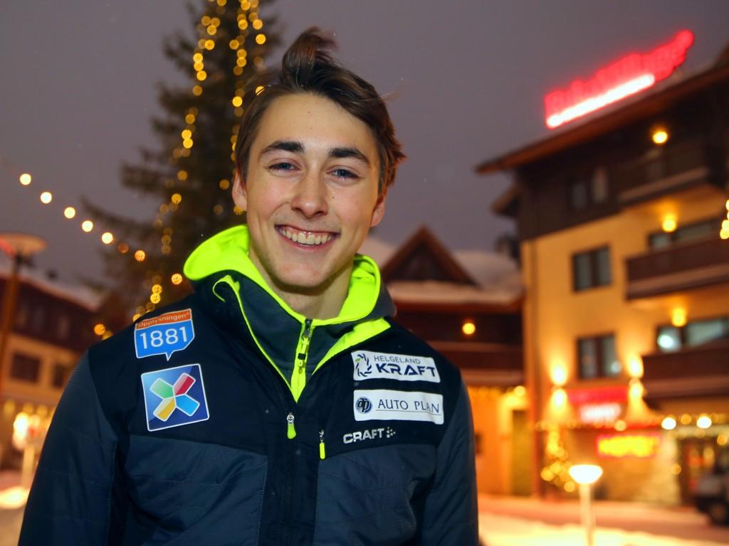 KOMET: Jarl Magnus Riiber er et kombinertnavn Norge kan få mye glede av framover.