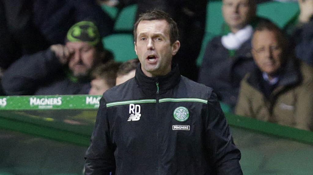 TAP: Ronny Deila og Celtic gikk på et overraskende tap hjemme mot Motherwell.