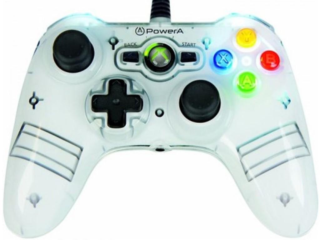 PowerA Mini ProEx wired til Xbox 360 er én av håndkontrollene Forbrukerrådet advarer foreldre mot å kjøpe til barna.