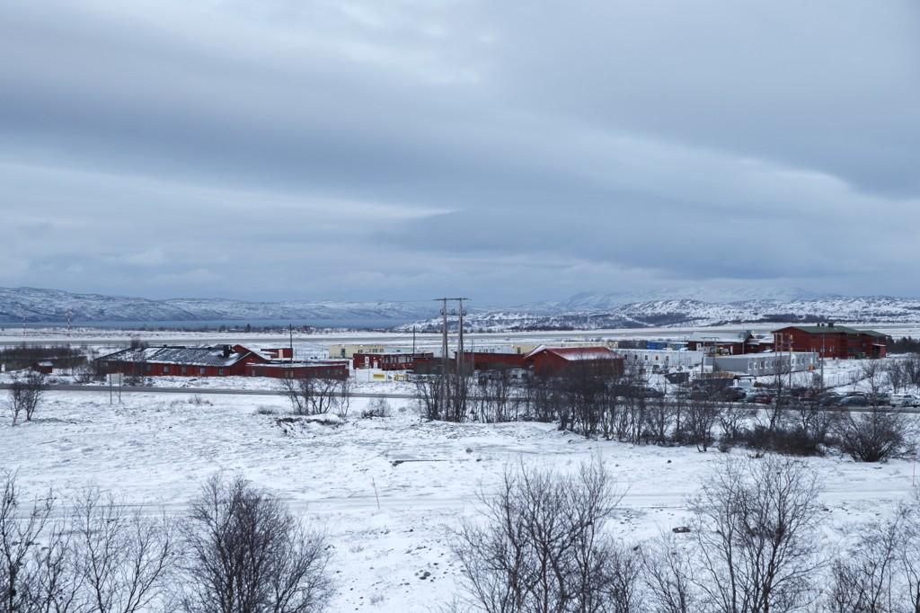 LOVER HVIT JUL: Meteorologene lover hvit jul til Finnmark på julaften. Dette bildet er fra Kirkenes og er fra november