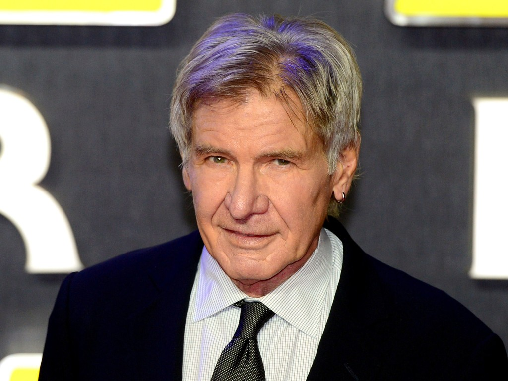 GODE TIDER: Harrison Ford tjener godt på den nye Star Wars The Force Awakens.